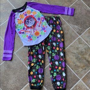 Disney Coco pajamas size 8.